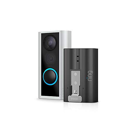 Ring Peephole Cam with Rechargeable Battery Pack