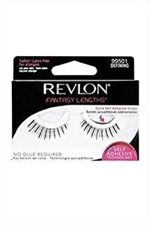 Revlon Fantasy Lengths Self Adhesive Eyelashes 99501 Defining Black