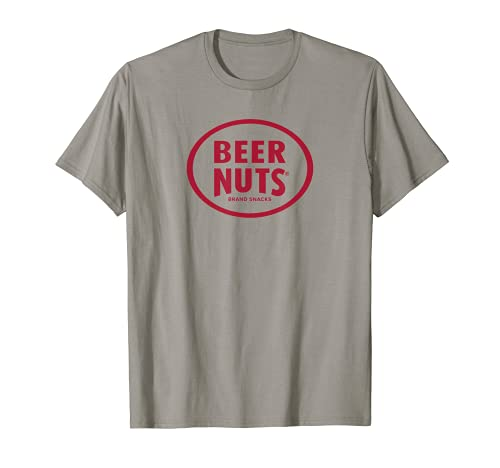 BEER NUTS   Classic Red Logo T-Shirt. Graphic gym tee