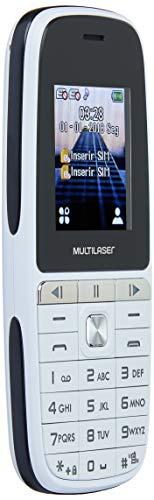 Celular Up Play Dual Chip Mp3 Com Câmera Branco - Multilaser - P9077