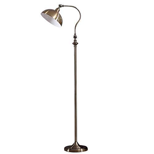 Chenbz En la sala, hotel, dormitorio, Protección de los ojos Lámpara de pie -Europa Estilo Salón Suelo Industrial de la lámpara del viento retro sala de estar Pesca interruptor de luz de alta 152cm Pi