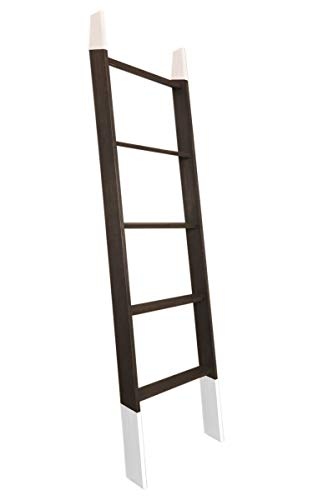 Best Buy! BrandtWorks Lucus Ebony 72 Decorative Ladder 20'' x 72''