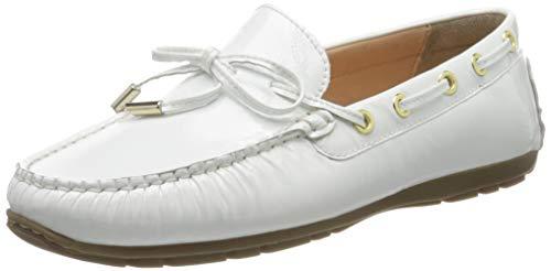 Sioux Damen Carmona-701 Mokassin, Weiß (Weiss 001), 38.5 EU