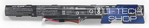 LI-TECH Compatible Battery 2800mAh for Acer Aspire E15 E5575-36NY Replacement Computer