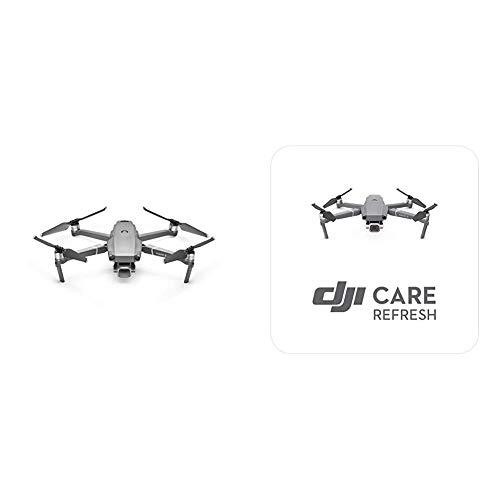 DJI Mavic 2 Pro - Kit Drone avec caméra Hasselblad, Video 4K HDR, Capteur CMOS - Gris & Care Refresh - Extension de Garantie pour Drone DJI, Remplacement en Cas d'Accident Neuf ou à l'Etat Neuf