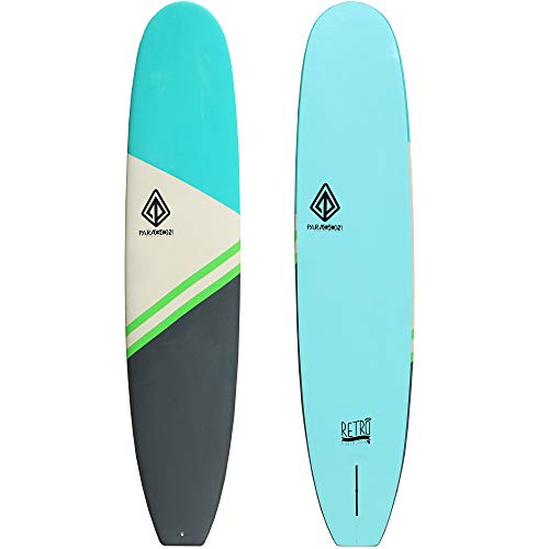 Paragon Surfboards Performance Soft-Top Surfboard   Handshaped, Fun & Easy to Ride   5'6'   7'6'  ...