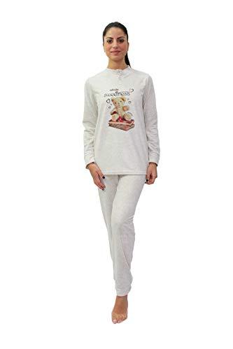 Melk en honing vrouwen Warm katoen pyjama, Seraphim Model