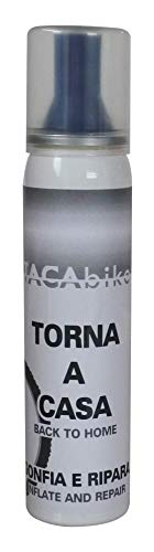 Tacabike, Gonfia e Ripara Unisex-Adult, Tappo Blu, 100 ml