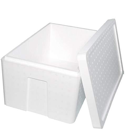 発泡スチロール 箱 (肉厚) 保温冷凍箱 3個 550×350×285mm 【内容量33.5リッター】