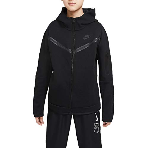 Nike Sportswear Tech Fleece Big Kids (Boys') Pantalones Fz Cu9223-010 - negro - 14- 16 años