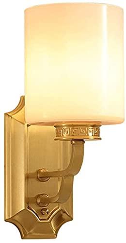 Vägglampa Glas lampskärm installation modern vägg ljushållare inomhus väggmonterade vardagsrum belysning sovrum sängloft belysning