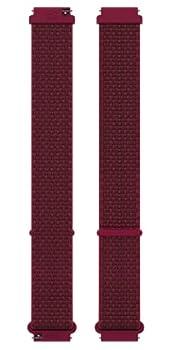 Polar Unisex s Wristband Hook&Loop 20mm Red S-M
