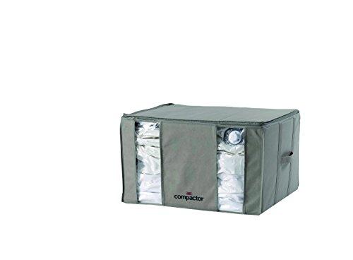 Compactor Home polipropileno Tamaño grande bolsa de almacenamiento, diseño con forma de gris