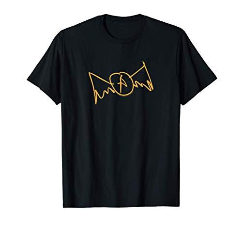 Aerosmith - Sketch (Yellow Logo) Camiseta