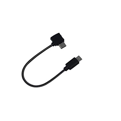 CHENJUAN Remote Controller Data Cable for DJI Spark Drone Type-C Micro-USB IOS poort aansluiten Phone Tablet Connector Spare Parts oplaadapparaten (Color : 15CM Type C)