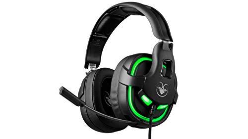 GOATEC Sentry X02-7.1 Surround Sound Gaming-Headset mit RGB-Beleuchtung – Flexibles Mikrofon – für Windows, Mac, PS4, Xbox, Tablet
