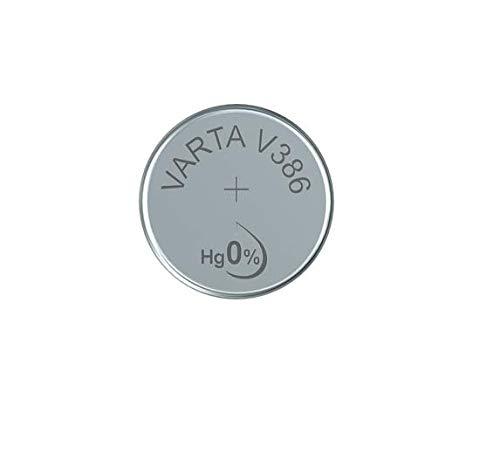 VARTA V386 / SR43 - Pack de 1 pila (óxido de plata, 1.55 V, 115 mAh)