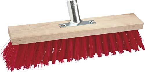 TRIUSO straßenbesen sans manche rouge 60 cm kunstb.