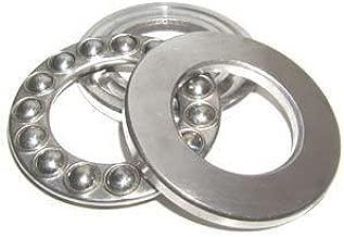 VXB Brand, 51102 Thrust Ball Bearing 15x28x9 Metric 15mm Bore ID Inner Diameter x 28mm OD Outer Diameter and 9mm high