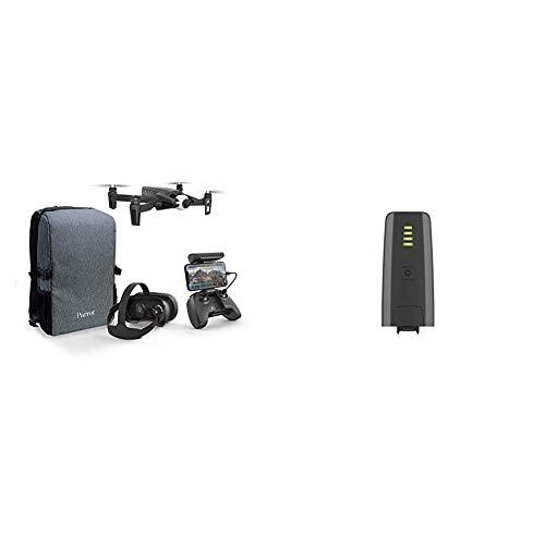 Parrot Anafi - Pack Drone FPV - Quadricoptère Hyper Léger et Pliable - Lunettes FPV Cockpitglasses 3 & Anafi - Batterie Intelligente (7.6V, Lipo, 2 cellules, 2700 mAh, autonomie: 25 Min) - Gris