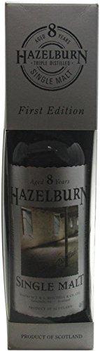 Rarität: Hazelburn Whisky 8 Jahre 0,7l - First Edition Etikett