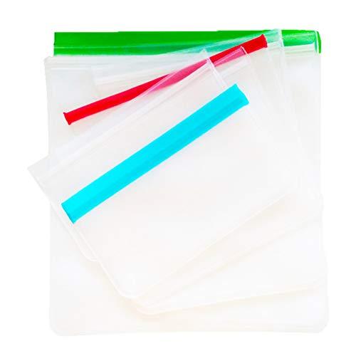 Bolsa de mantenimiento fresca bolsa de comida bolsa ziplock esmerilada translúcida bolsa de almacenamiento de refrigeración refrigerador bolsa sellada de bocadillos color 20 * 26