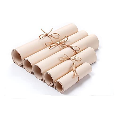 Demoyu Cuero Natural de Cuero Cuero Bronceado de Cuero de 1,0 mm Cuero de Vaca Bueno para Bolsa Monedero de Billetera DIY Material (Color : 14 x 21cm)