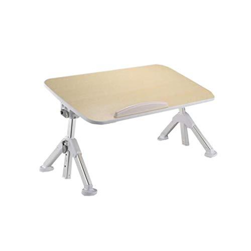 ZXL klaptafel, comfortabel en stabiel, verstelbaar voor laptop groot (kleur: wit, maat: L)