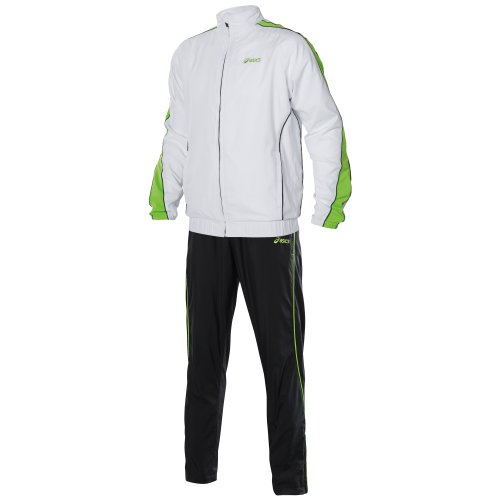 ASICS Herren Tennisjacke Court, real white, L, 325307