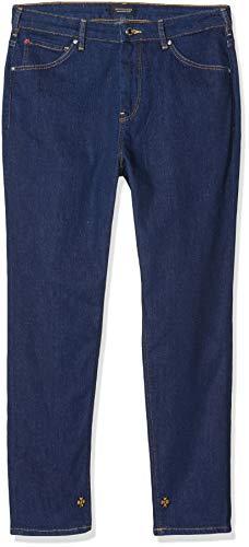Scotch & Soda Maison Haut Vaqueros Straight, Azul (Fresh Rinse 3352), W34/L32 (Talla del Fabricante: 25/32) para Mujer