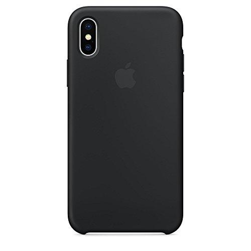【国内正規品】Apple 純正 iPhone X シリコーンケース (ブラック)