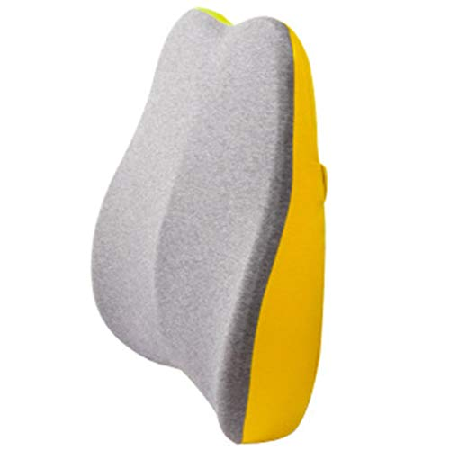 yueyang Memory Cotton Back Cushion Seat Office Support Waist Lumbar Pillow for Car Home