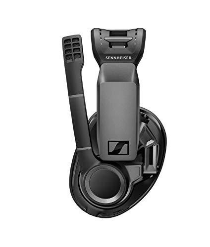ゼンハイザーワイヤレスゲーミングヘッドセットGSP670|ローレイテンシー&Bluetooth接続、7.1チャンネルサラウンド・サウンド、ノイズキャンセリングマイク、簡単マイクミュート機能|PC、PS4、スマホ対応【国内正規品】
