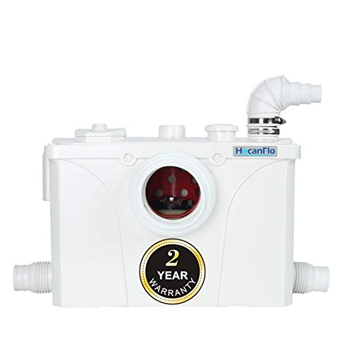 700 Watt Macerator Pump, Macerator Toilet Pump for Upflush Toilet Basement Toilet (700 watt)