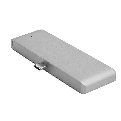 sjlerst 4 in 1 Type-C Hub 4-Port USB C Hub HDMI + USB + 3.5mm + PD Charging for Mate 20, for U12 +