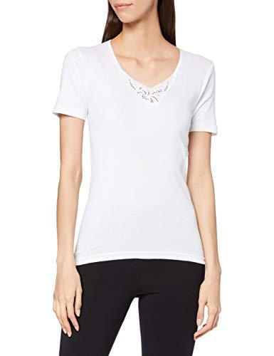 Playtex APP4756, Camisa Deportiva para Mujer, Blanco (Blanco/Branco 000), Medium (Tamaño del fabricante:M)