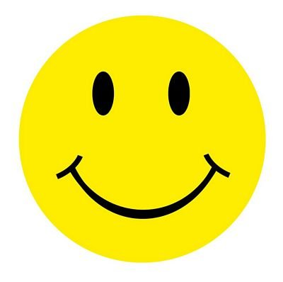 FahnenMax Autoaufkleber Sticker Smile/Smiley rund NEU Aufkleber