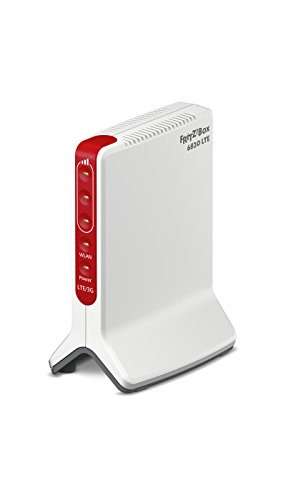 AVM FRITZ!Box 6820 LTE Router (LTE (4G), UMTS (3G), WLAN N bis 450 MBit/s, 1x Gigabit-LAN, internationale Version)