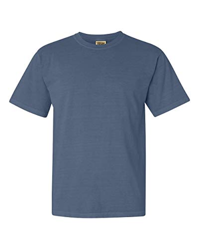 Comfort Colors Men's Adult Short Sleeve Tee, Style 1717, Blue Jean, X-Large