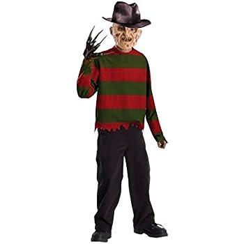 Partilandia Disfraz Freddy Krueger para niño (4-6 años): Amazon.es ...