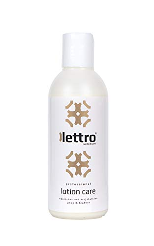 Lettro Lotion Care, Premium Lederpflege Lotion und Leather Conditioner für Polstermöbel, Sofas, Sättel, Handtaschen, Lederjacken und Schuhe, Transparent (Neutral), 200 ml