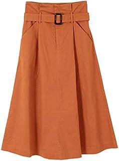 (ティティベイト) titivate ウエストベルト付きロングスカート ASXP1861