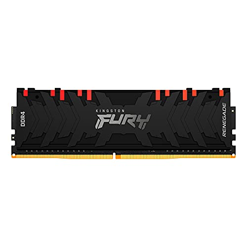 Kingston FURY Renegade RGB 16GB 3600MHz DDR4 CL16 Mémoire Kit pour PC Module Simple KF436C16RB1A/16