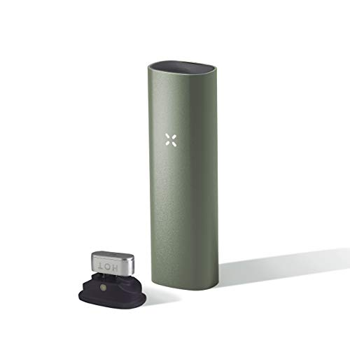 PAX 3 Premium Portable Vaporizer, Dry Herb, Concentrate, 10 Year Warranty, Complete Kit, Sage