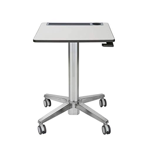 Ergotron – LearnFit Sit-Stand Desk – Mobile Desk - 24-547-003 – Grey and Silver