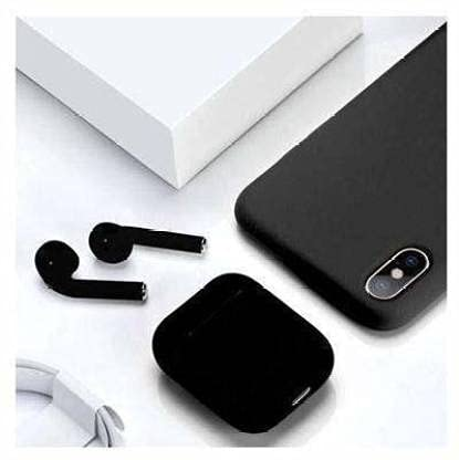 NKL Wireless Bluetooth Earbuds with Portable Charging Case,Sensor Touch (Black)