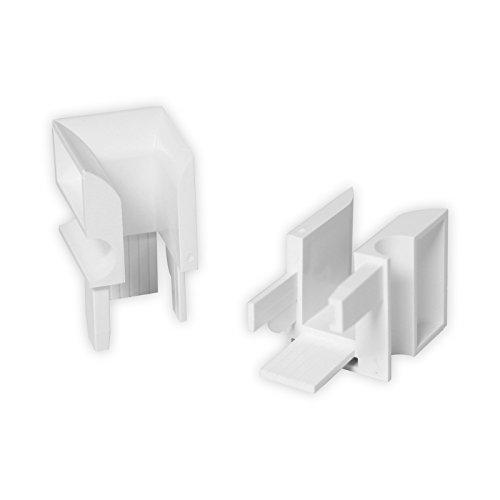 DIWARO® Einlauftrichter für Mini-Führungsschiene aus Kunststoff | weiß | 905-2