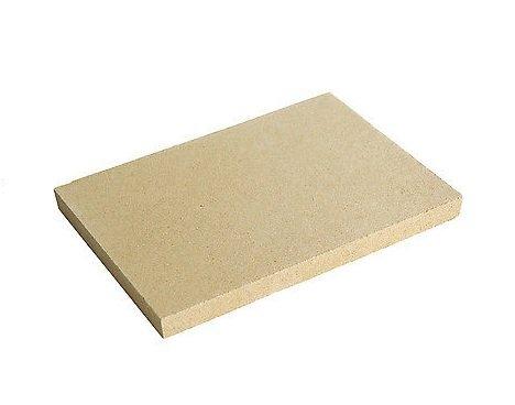 Vermiculite Schamottersatz schamottstein épaisseur 2,5 cm