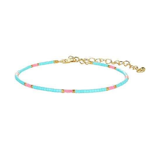 KANYEE Femme Homme Fille Adolescent Mixte Pas de Type de métal Petites Perles