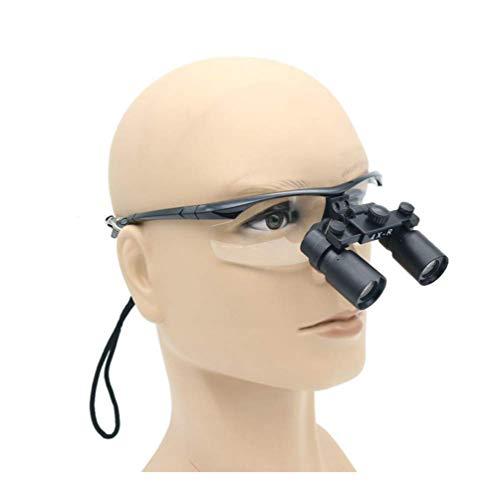 Mago mondstuk, chirurgisch, verrekijker, hoge vergroting, vergrootglas 4 x medisch verstelbaar, hoek 420 mm, werkafstand voor tandartsen, laboratorium, ophtalmologie